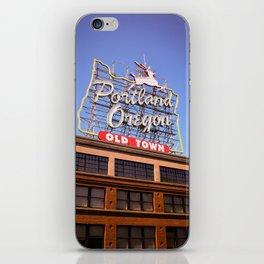 Portland Oregon iPhone Skin