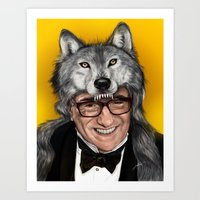MARTIN SCORSESE THE WOLF OF HOLLYWOOD Art Print