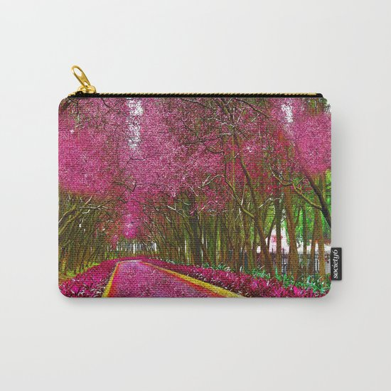 CHERRY BLOSSOMS SPRING Carry-All Pouch