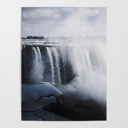 waterfall mist Poster