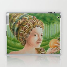 """Portrait in the forest"" (notebook) Laptop & iPad Skin"