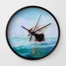 Private Beach Wall Clock