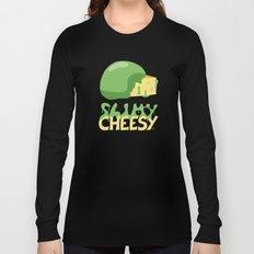 Slimy cheesy Long Sleeve T-shirt