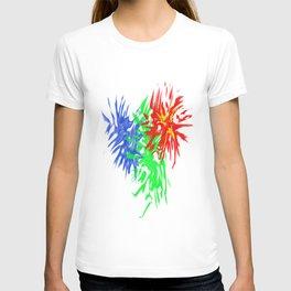 Splashing Colours T-shirt