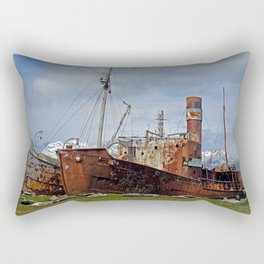 Abandoned Whaling Ships Rectangular Pillow
