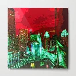 Chicago006 Metal Print