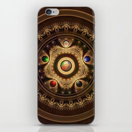 Gathering the Five Fractal Colors of Magic iPhone Skin