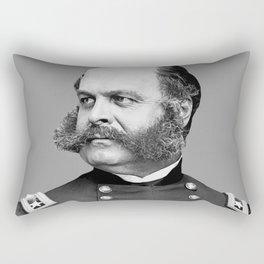 General Ambrose Burnside Rectangular Pillow