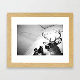 Mountee Framed Art Print