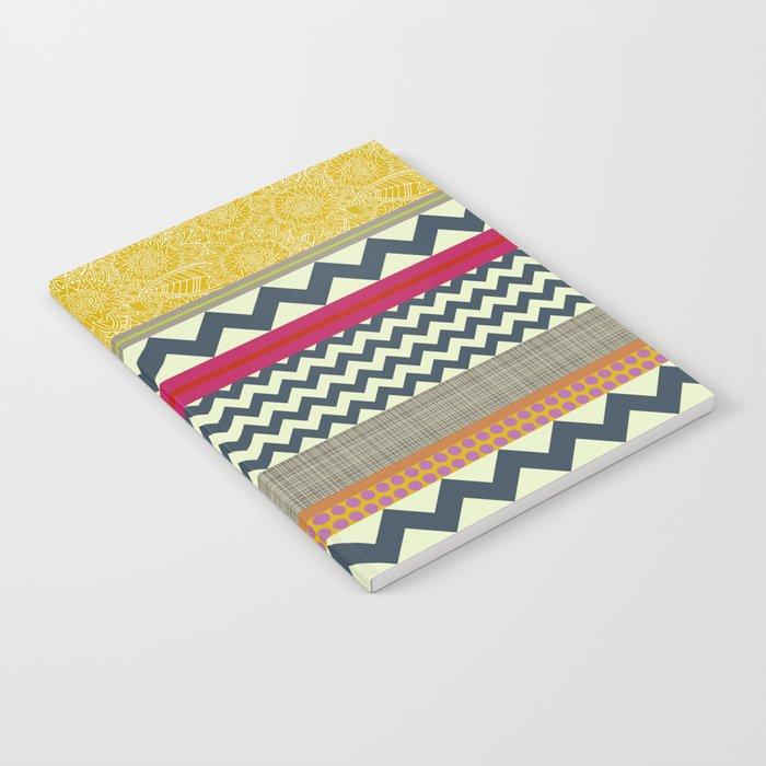 New York Beauty stripe Notebook