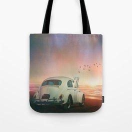 NEVER STOP EXPLORING VI (A SUNDOWN) Tote Bag