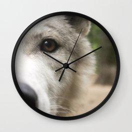 Aurora - Wolf Wall Clock