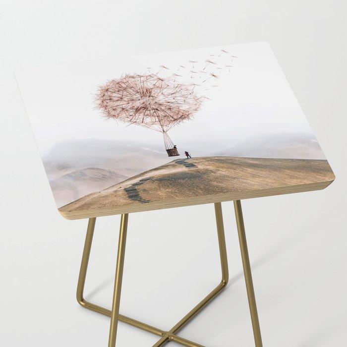 Flying Dandelion Side Table