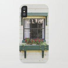 The Green Window Slim Case iPhone X