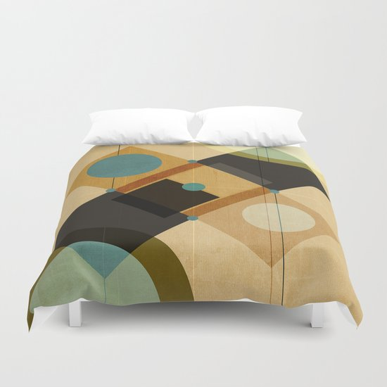 Geometric/Abstract 3 Duvet Cover