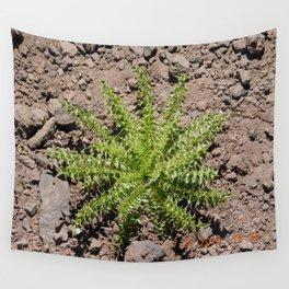 roar trip, green plant, greenery, plants, pokey, stickery, high altitude Wall Tapestry