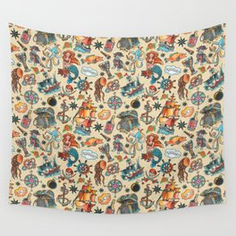 Ship Ahoy! Wall Tapestry
