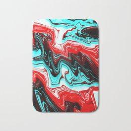 Caramel Trippy Bath Mat