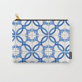 Travel to Lisbon Carry-All Pouch