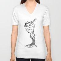 "ramen V-neck T-shirts featuring ""RAMEN"" by Grantgrimmurray"