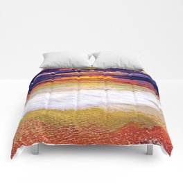 Sunset Beach Comforters