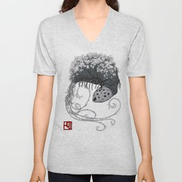 Bloodborne Rom the Vacuous Spider Unisex V-Neck