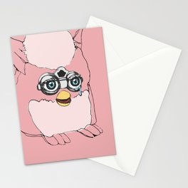 Pink Furby Stationery Cards