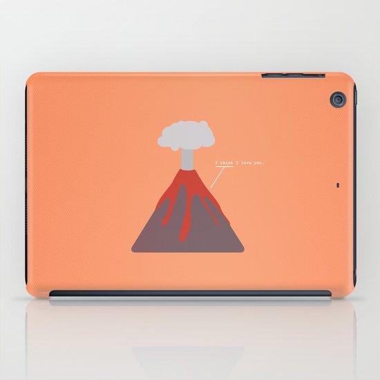 I Think I Lava You iPad Case