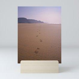 THE WHOLE BEACH TO MYSELF Mini Art Print