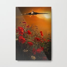 The V Bomber Metal Print