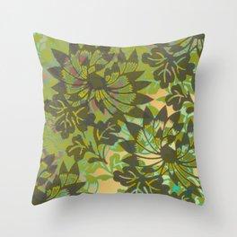 Flowers 613 Throw Pillow