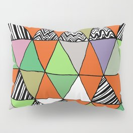 Triangle 2 Pillow Sham