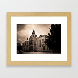 The Old Palace Framed Art Print