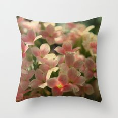 Cute Flowers Throw Pillow