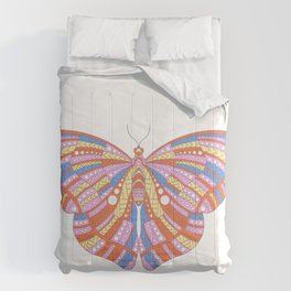 Ethnic Butterfly Comforters
