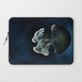 Blue Blubber Jelly Laptop Sleeve
