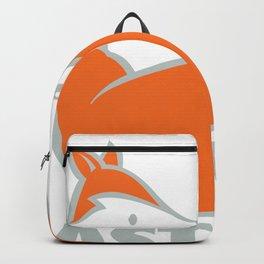 Spanish fox in orange and grey Backpack