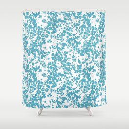 Cottage Charming Blue Shower Curtain