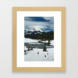 Rainier and Tipsoo Lake Framed Art Print