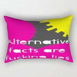 Alternative Lies are Fucking Lies Rectangular Pillow