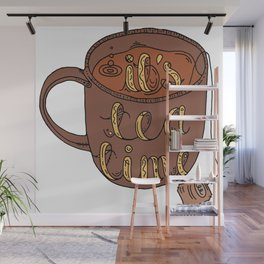 IT'S TEA TIME Wall Mural