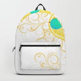 Lemon Sun Backpack