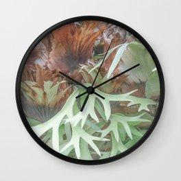 Ethereal Elkhorn Wall Clock