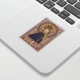 Stevie Nicks Mucha Sticker