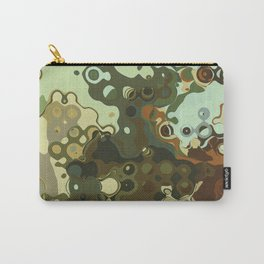 RETRO Mid Century Modern Abstract Pattern Geometric Art by Michel Keck Carry-All Pouch