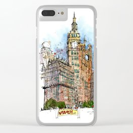 Chicago! Clear iPhone Case