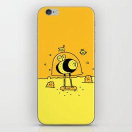 Happy Space Bee iPhone Skin