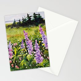 Lupines of Nova Scotia Stationery Cards