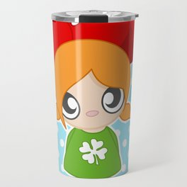 Cute Girl Travel Mug
