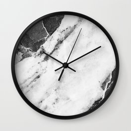 Titan River Black Wall Clock